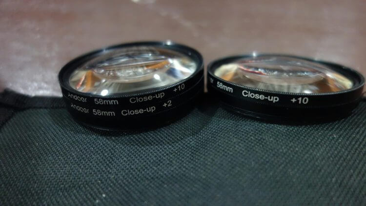 Macro close up lenses